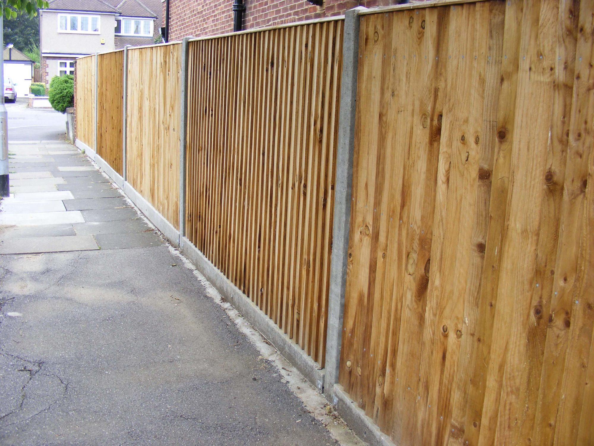 Wooden Fencing Harrow