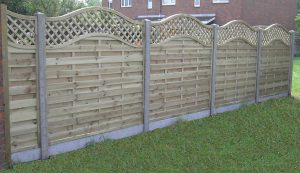 Continental Fence Panels | Harrow Fencing Supplies